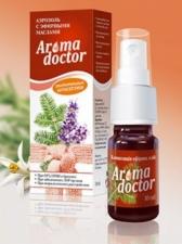 «Aromadoсtor» - композиция эфирных масел лаванды, пихты, апельсина и чайного дерева.