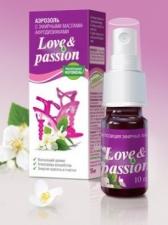 «Love&passion» - композиция эфирных масел иланг-иланга, жасмина, сандала и имбиря.
